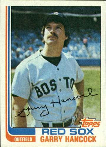 Photo of 1982 Topps #322 Garry Hancock