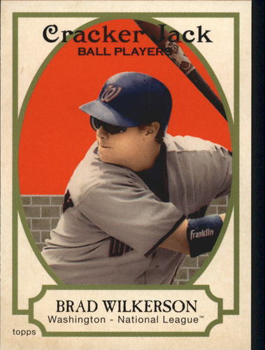 Photo of 2005 Topps Cracker Jack #153 Brad Wilkerson