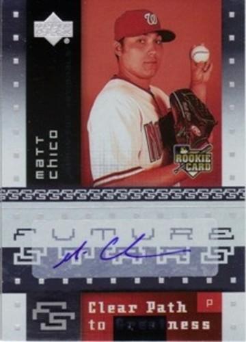 Photo of 2007 Upper Deck Future Stars #117 Matt Chico AUTO (RC)