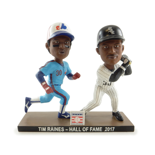Photo of Tim Raines Dual Bobblehead - Orders placed on or after December 18 will be shipped on January 3, 2019
