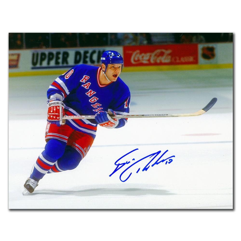Esa Tikkanen New York Rangers Autographed 8x10