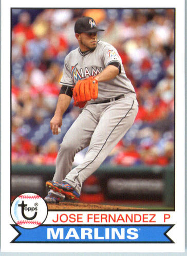 Photo of 2016 Topps Archives #161 Jose Fernandez