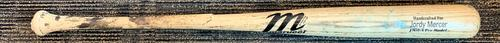 Photo of Jordy Mercer Game-Used Broken Bat
