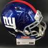 NFL - GIANTS RB SAQUON BARKLEY SIGNED GIANTS REVOLUTION HELMET W/#26 INSCRIPTION
