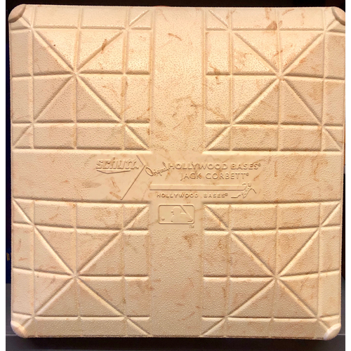 Photo of 2017 Spring Training Game Used Base- 3rd Base (Innings 1 - 9) - Royals vs. Athletics - 3/27/17