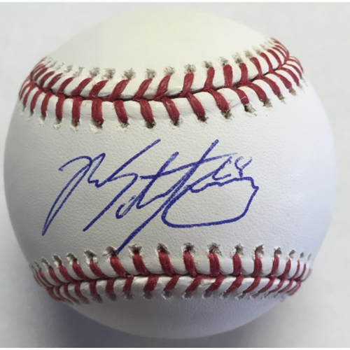 Photo of Ross Stripling Autographed Baseball