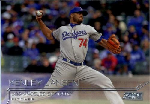 Photo of 2015 Stadium Club #133 Kenley Jansen