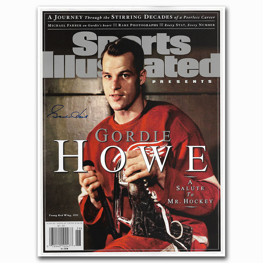 Gordie Howe Autographed Commemorative Sports Illustrated