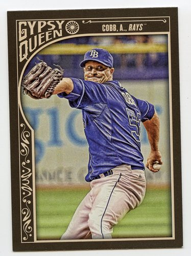 Photo of 2015 Topps Gypsy Queen #106 Alex Cobb