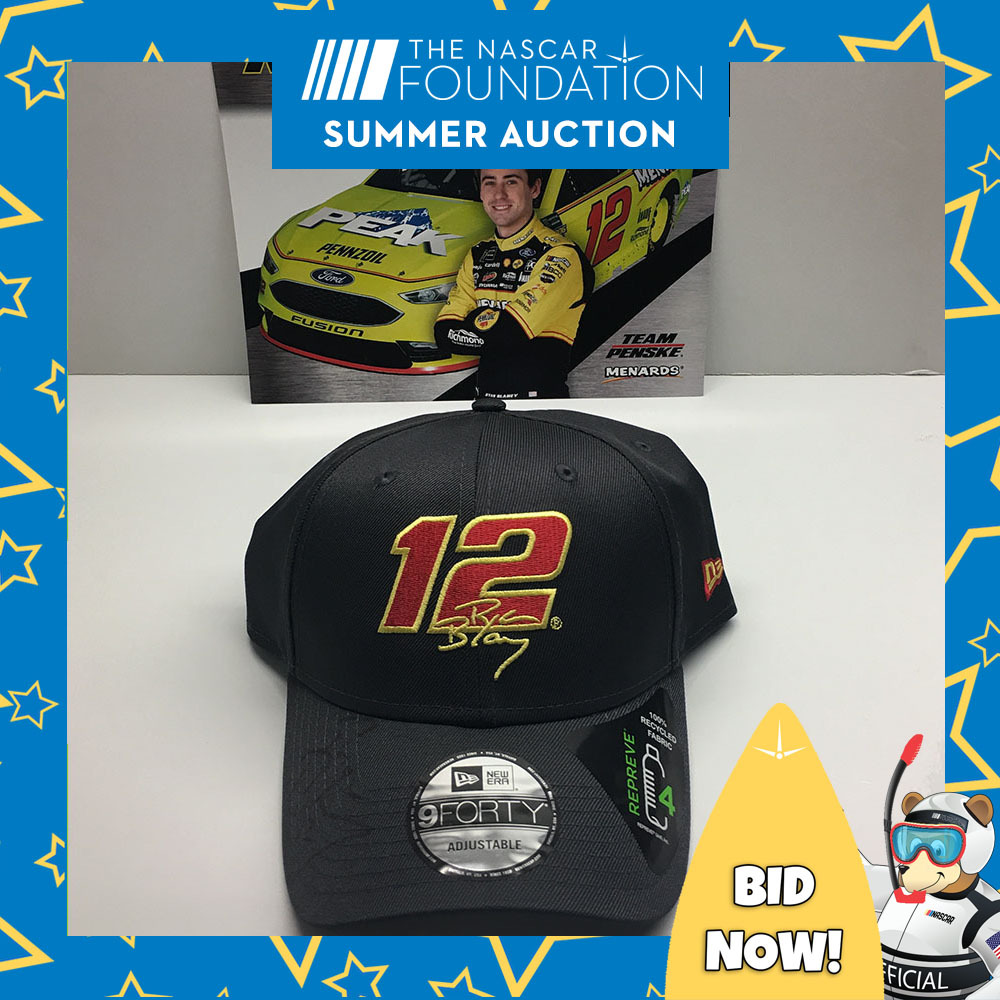 NASCAR's Ryan Blaney Autographed Hat!