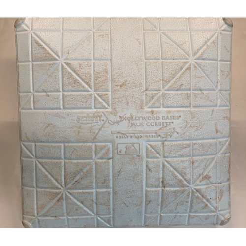 Game-Used Base: August 21, 2018 vs. Chicago Cubs
