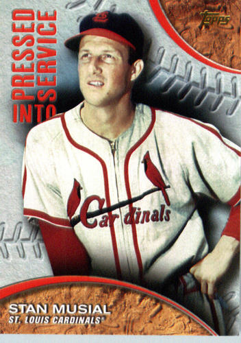 Photo of 2016 Topps Pressed Into Service #PIS6 Stan Musial