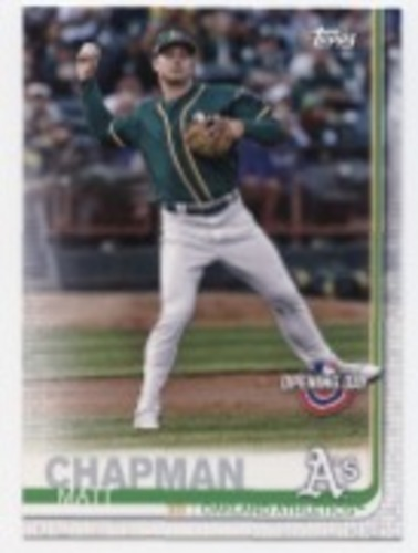 Photo of 2019 Topps Opening Day #135 Matt Chapman