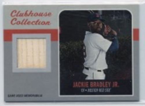 Photo of 2019 Topps Heritage Clubhouse Collection Relics #CCRJBR Jackie Bradley Jr. HN
