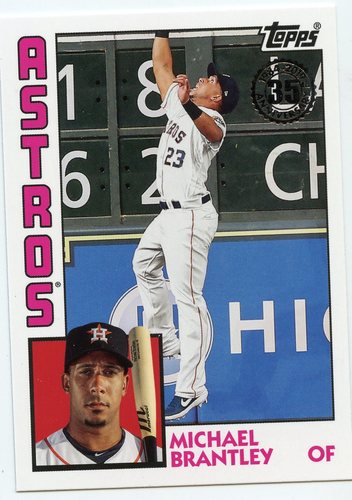 Photo of 2019 Topps Update '84 Topps #8446 Michael Brantley