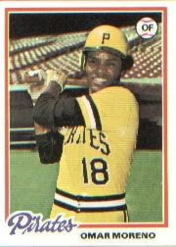 Photo of 1978 Topps #283 Omar Moreno