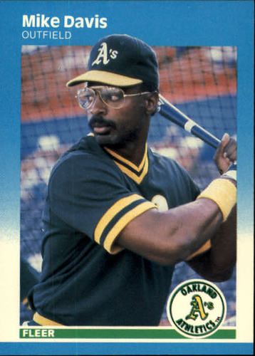 Photo of 1987 Fleer #391 Mike Davis