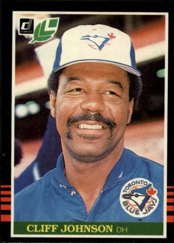 Photo of 1985 Leaf/Donruss #115 Cliff Johnson