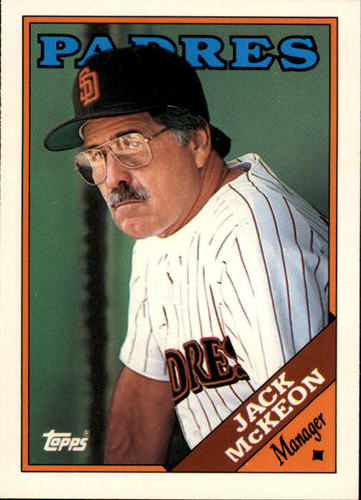 Photo of 1988 Topps Traded #69T Jack McKeon MG