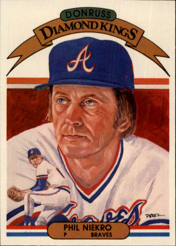 Photo of 1982 Donruss #10 Phil Niekro DK