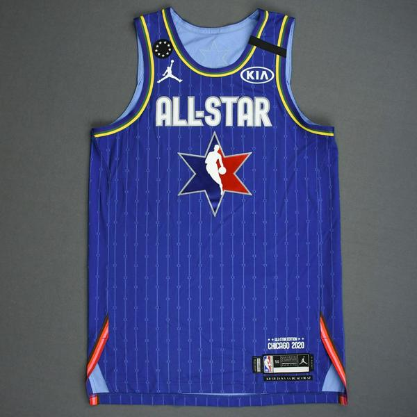 Image of Domantas Sabonis - 2020 NBA All-Star - Game-Worn Jersey Charity Auction - Team LeBron - 1st and 2nd Quarter