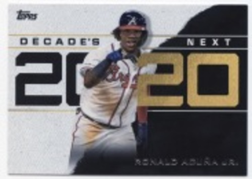 Photo of 2020 Topps Decade's Next #DN5 Ronald Acuna Jr.