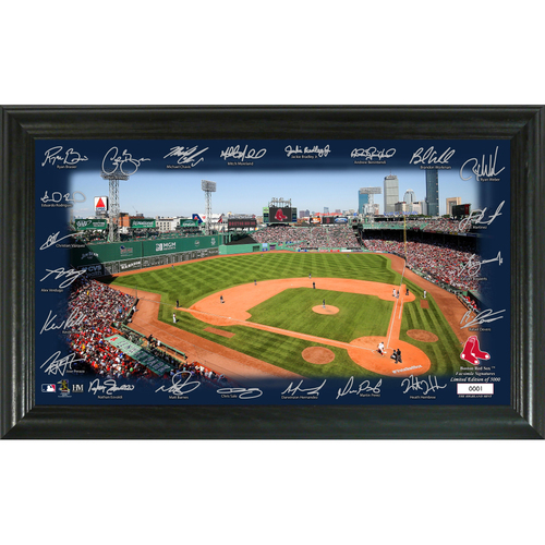 Photo of Boston Red Sox 2020 Signature Field Limited Edition Frame