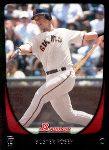 Photo of 2011 Bowman #1 Buster Posey