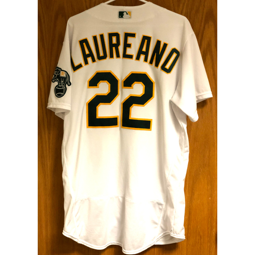 Photo of Game-Used 2020 AL Division Series Jersey - Ramon Laureano (ALDS Game 1)