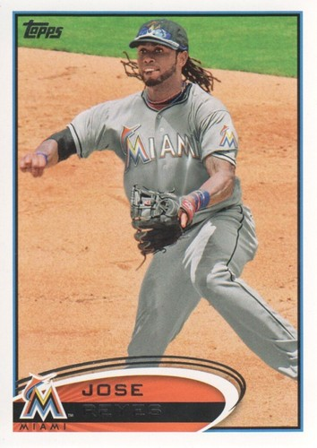 Photo of 2012 Topps #332A Jose Reyes