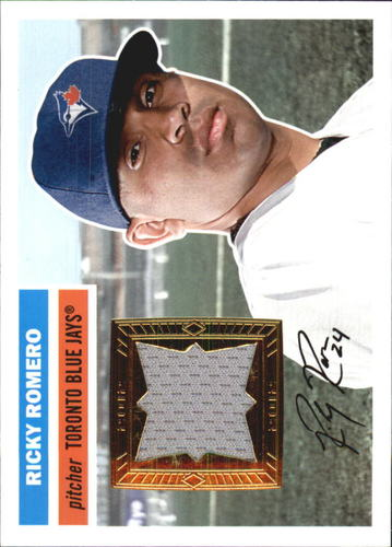 Photo of 2012 Topps Archives Relics #RR Ricky Romero