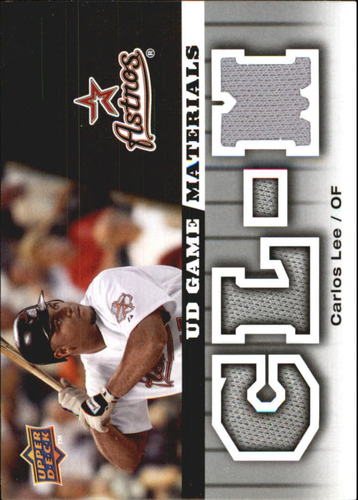 Photo of 2009 Upper Deck UD Game Materials #GMCL Carlos Lee