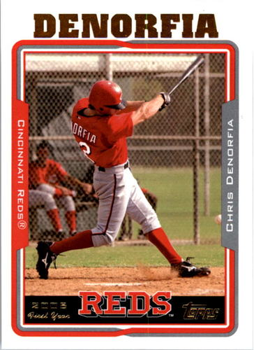 Photo of 2005 Topps #314 Chris Denorfia FY RC