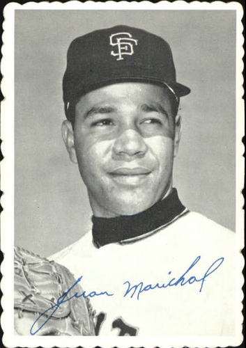 Photo of 1969 Topps Deckle Edge #32 Juan Marichal