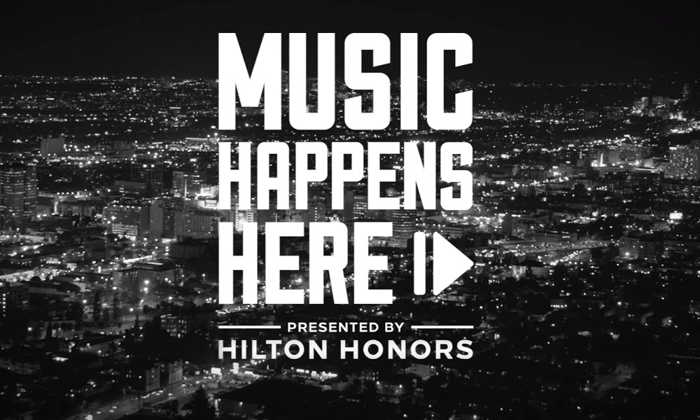 MUSIC HAPPENS WHERE YOU LEAST EXPECT IT