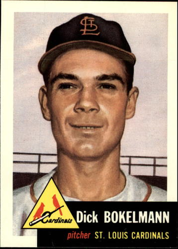 Photo of 1991 Topps Archives 1953 #204 Dick Bokelman