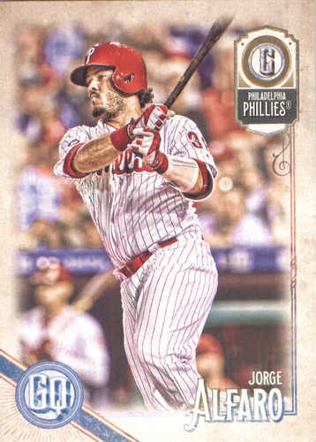 Photo of 2018 Topps Gypsy Queen #288 Jorge Alfaro