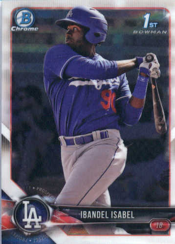 Photo of 2018 Bowman Chrome Prospects #BCP47 Ibandel Isabel