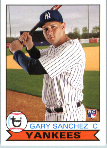 Photo of 2016 Topps Archives #162 Gary Sanchez RC