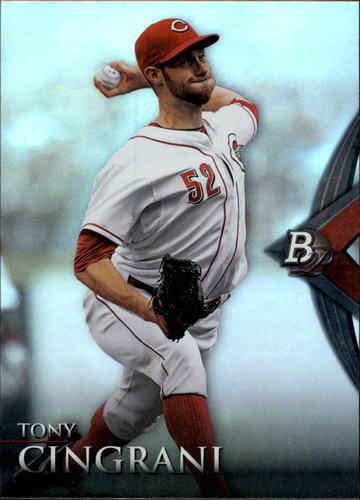 Photo of 2014 Bowman Platinum #51 Tony Cingrani
