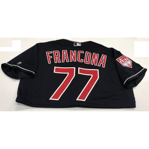 Photo of Terry Francona Team Issued 2019 Spring Training Jersey