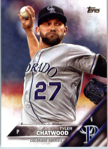 Photo of 2016 Topps #674 Tyler Chatwood