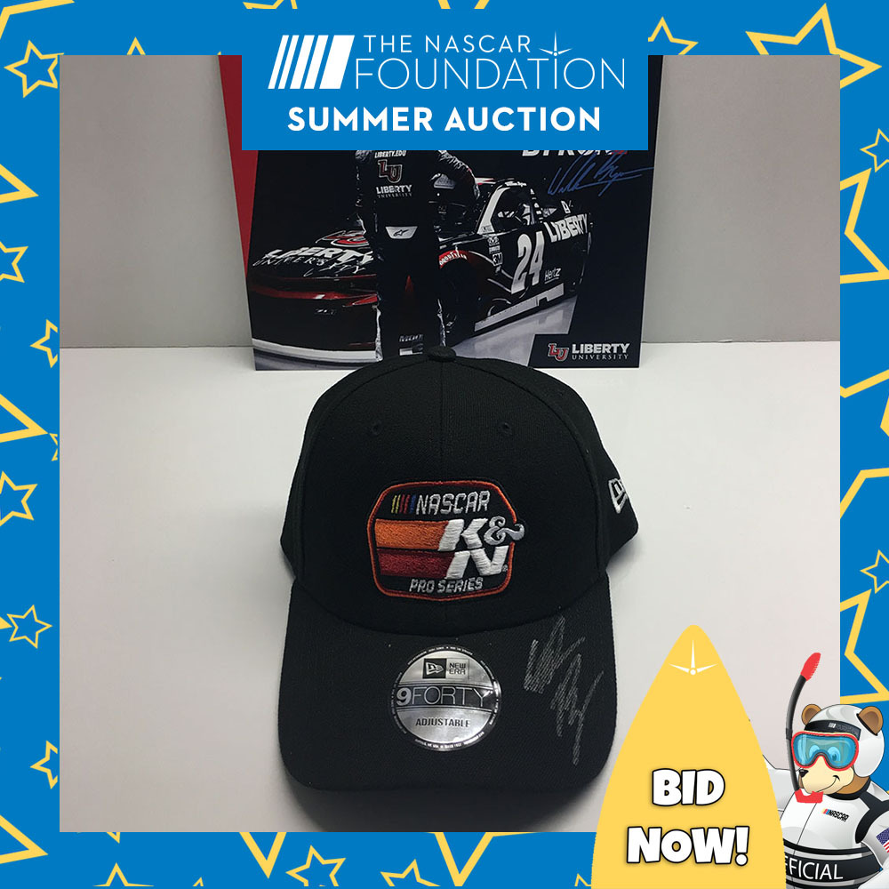 NASCAR's William Byron Autographed Hat!