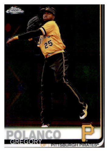 Photo of 2019 Topps Chrome #159 Gregory Polanco