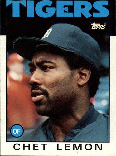 Photo of 1986 Topps #160 Chet Lemon