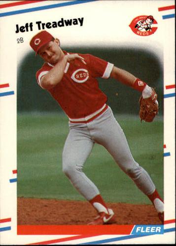 Photo of 1988 Fleer #249 Jeff Treadway RC