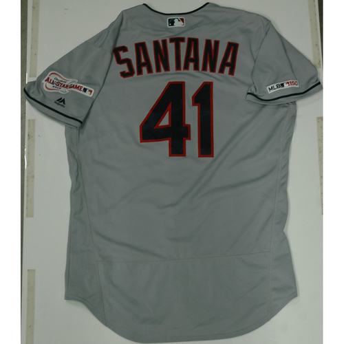Photo of Carlos Santana 2019 Team Issued Road Jersey