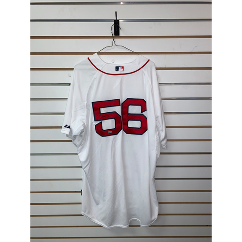 Photo of Joe Kelly Autographed Authentic Home Jersey