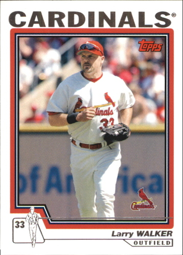 Photo of 2004 Topps Traded #T31 Larry Walker Cards
