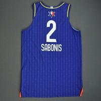 DomantasSabonis - 2020 NBA All-Star - Game-Worn Jersey Charity Auction - Team LeBron - 1st and 2nd Quarter